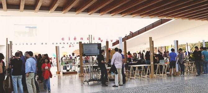Espaço FabLabs na Maker Faire Lisbon